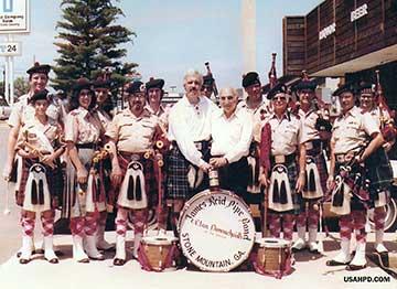 Atholl Highlanders USA--The Early Days