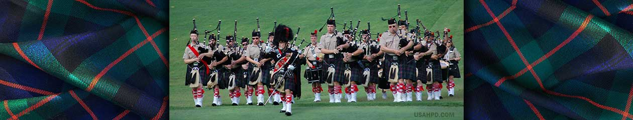 Atholl Highlanders Pipes and Drums USA